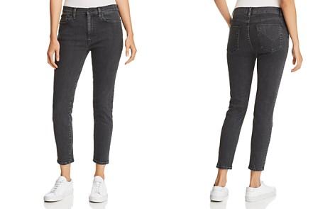 Hudson Krista Ankle Skinny Jeans in Washed Black - 100% Exclusive - Bloomingdale's_2