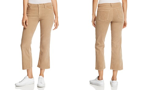 MOTHER The Outsider Cropped Flared Corduroy Jeans - Bloomingdale's_2