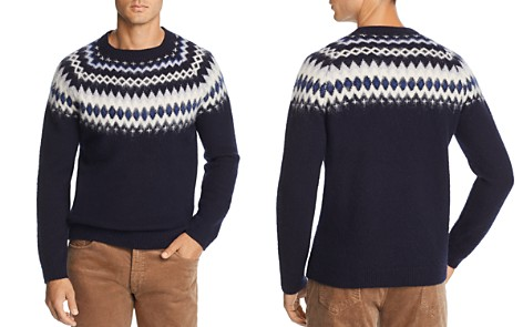 The Men's Store at Bloomingdale's Merino Wool Fair Isle Sweater - 100% Exclusive_2