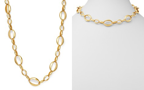 "Bloomingdale's Interlocking Oval Necklace in 14K Yellow Gold, 18"" - 100% Exclusive_2"