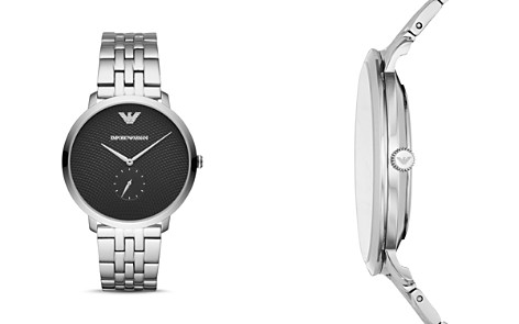 Emporio Armani Stainless Steel Single Sub-Dial Watch, 42mm - Bloomingdale's_2
