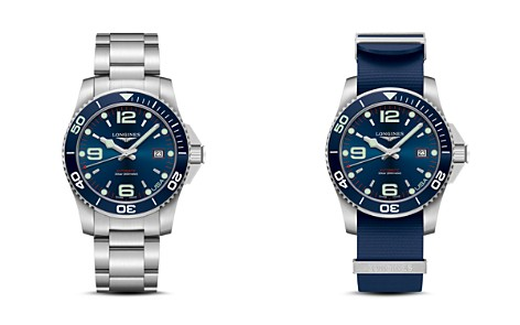 Longines USA Exclusive HydroConquest Watch, 41 mm - Bloomingdale's_2