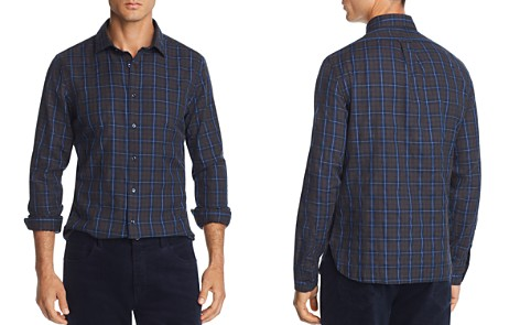 The Men's Store at Bloomingdale's Plaid Twill Slim Fit Shirt - 100% Exclusive_2