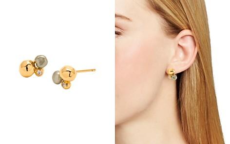 Gorjana Vienna Cultured Freshwater Pearl Shimmer Stud Earrings - Bloomingdale's_2