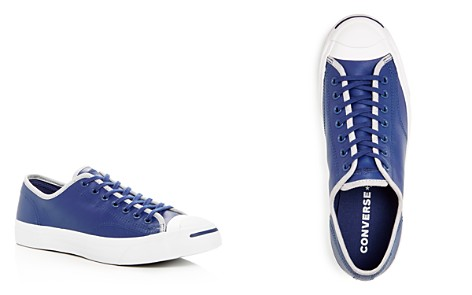Converse Men's Jack Purcell Leather Lace-Up Sneakers - Bloomingdale's_2