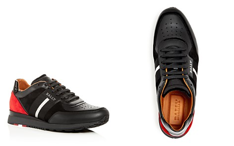 Bally Men's Aston Leather & Suede Lace Up Sneakers - Bloomingdale's_2