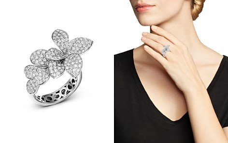 Pasquale Bruni 18K White Gold Stella in Fiore Diamond Ring - Bloomingdale's_2