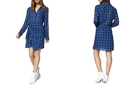 Sanctuary Ani Check Overlay Shirt Dress - Bloomingdale's_2