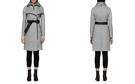 Mackage Nori Belted Wide Lapel Coat - Bloomingdale's_2
