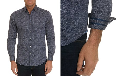 Robert Graham Stadler Scale-Print Regular Fit Shirt - 100% Exclusive - Bloomingdale's_2