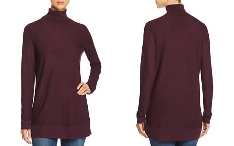 Eileen Fisher Turtleneck Tunic Sweater - Bloomingdale's_2