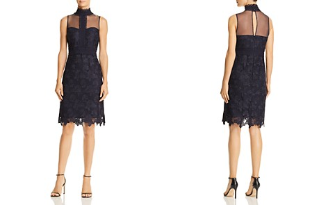 nanette Nanette Lepore Lace Sweetheart Illusion Dress - Bloomingdale's_2