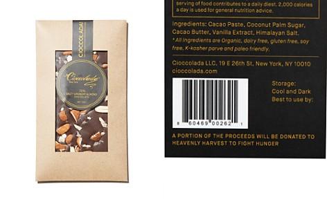 Cioccolada 72% Salty Crunchy Almond Chocolate Bar - Bloomingdale's_2