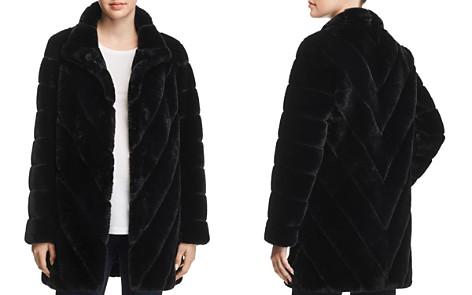 Calvin Klein Faux Fur Coat - Bloomingdale's_2