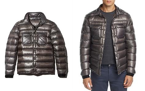 ISAORA Metallic Down Overshirt Jacket - Bloomingdale's_2
