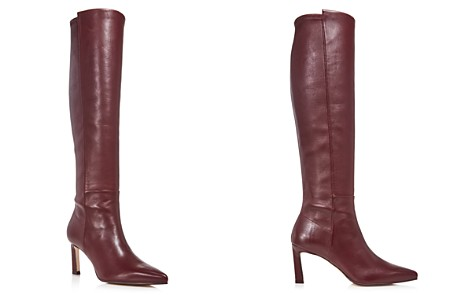Stuart Weitzman Women's Demi Pointed Toe Leather High-Heel Tall Boots - Bloomingdale's_2