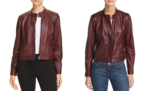 Rebecca Taylor Perforated Leather Jacket - 100% Exclusive - Bloomingdale's_2