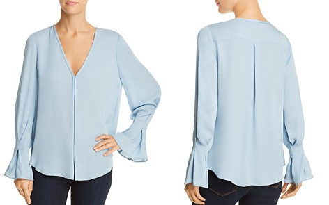 Joie Latacia Bell-Sleeve Silk Top - Bloomingdale's_2
