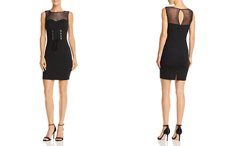 GUESS Rosita Corset Detail Dress - Bloomingdale's_2