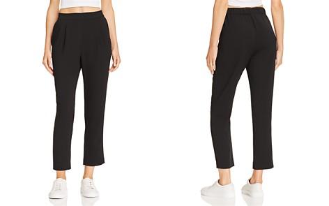 AQUA Slim Pleated Pants - 100% Exclusive - Bloomingdale's_2