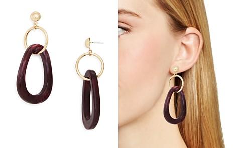 AQUA Dangle Hoop Earrings - 100% Exclusive - Bloomingdale's_2
