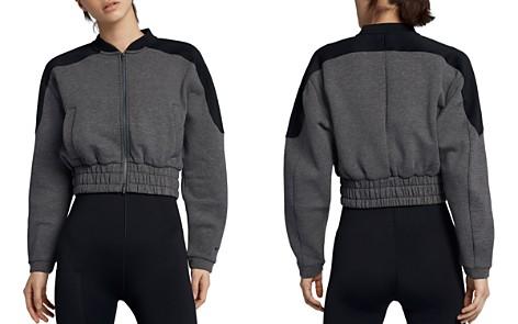 Nike Dry Cropped Bomber Jacket - Bloomingdale's_2