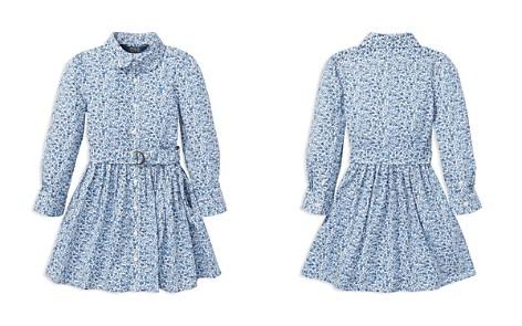Polo Ralph Lauren Girls' Floral Shirt Dress with Belt - Little Kid - Bloomingdale's_2