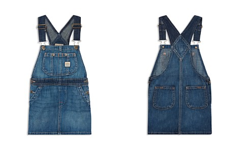 Polo Ralph Lauren Girls' Overall Denim Dress - Little Kid - Bloomingdale's_2