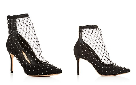 SCHUTZ Women's Chaya Embellished Net & Suede Pointed Toe Pumps - Bloomingdale's_2