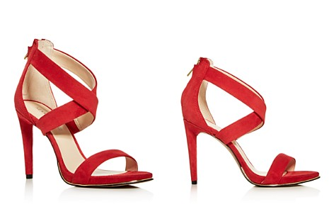 Kenneth Cole Women's Brooke Leather Crisscross High-Heel Sandals - Bloomingdale's_2