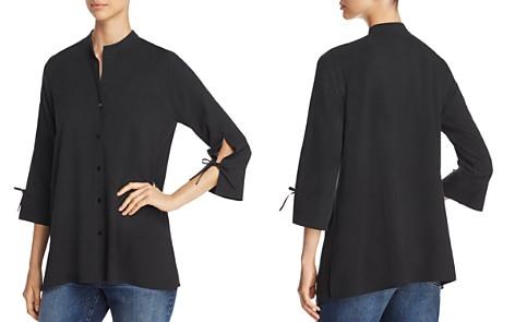 Eileen Fisher Silk Tie-Sleeve Top - Bloomingdale's_2