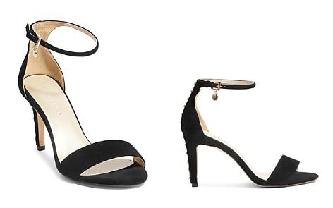 KAREN MILLEN Women's Open Toe Studded Leather High-Heel Sandals - Bloomingdale's_2