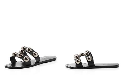 SCHUTZ Women's Benedita Open Toe Studded Leather Sandals - Bloomingdale's_2