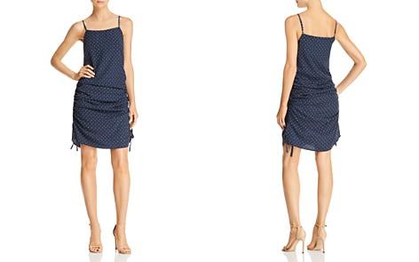 JOA Ruched Polka Dot-Print Dress - Bloomingdale's_2