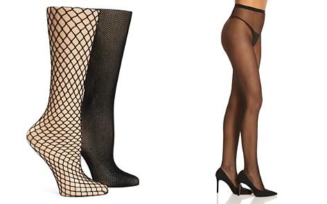 Calvin Klein Hosiery Fishnet Tights, Set of 2 - Bloomingdale's_2