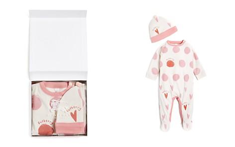 Burberry Girls' Hearts & Dots Hat & Footsie Set - Baby - Bloomingdale's_2