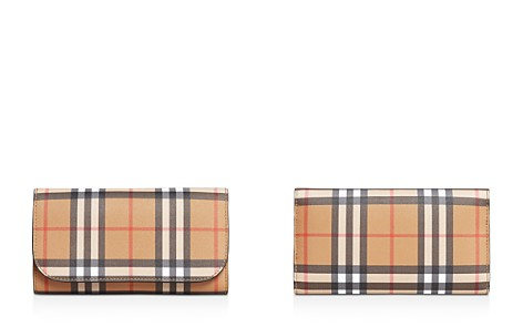 Burberry Vintage Check Medium Leather Continental Wallet - Bloomingdale's_2