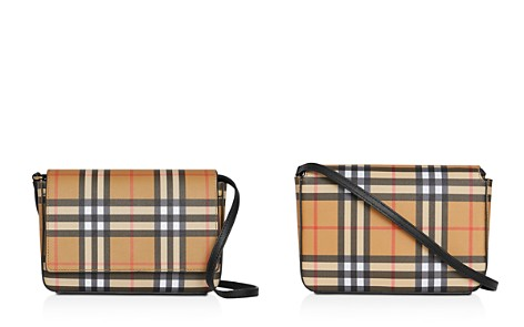 Burberry Vintage Check and Leather Wallet with Detachable Strap - Bloomingdale's_2
