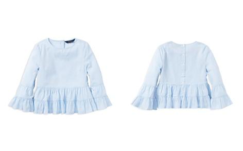 Polo Ralph Lauren Girls' Ruffled Cotton Top & Camisole Set - Big Kid - Bloomingdale's_2