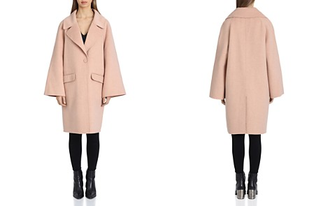Badgley Mischka Statement Sleeve Coat - Bloomingdale's_2