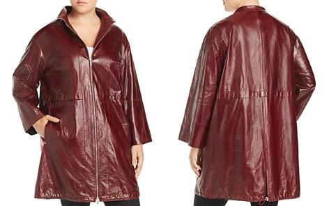 Lafayette 148 New York Plus Minerva Leather Jacket - Bloomingdale's_2