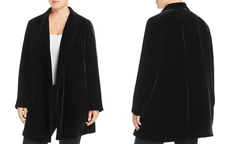 Lafayette 148 New York Plus Cecily Long Velvet Blazer - Bloomingdale's_2