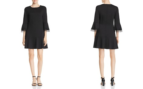 Le Gali Laura Lace-Trimmed Flounce Dress - 100% Exclusive - Bloomingdale's_2