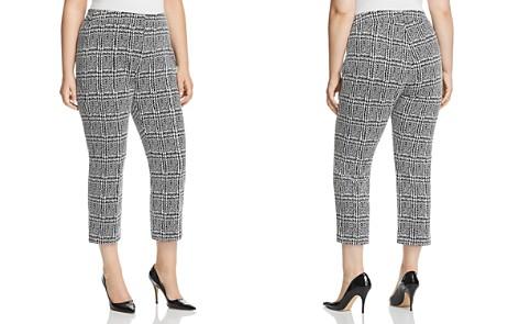 MICHAEL Michael Kors Plus Plaid Slim Crop Pants - Bloomingdale's_2