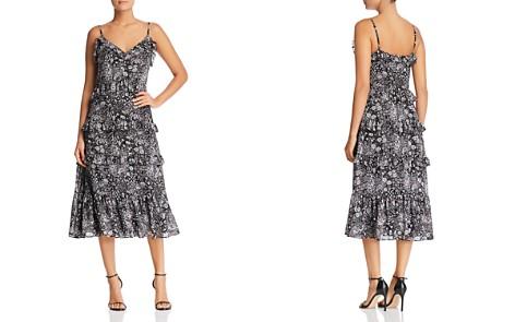 MICHAEL Michael Kors Paisley Print Ruffled Midi Dress - Bloomingdale's_2