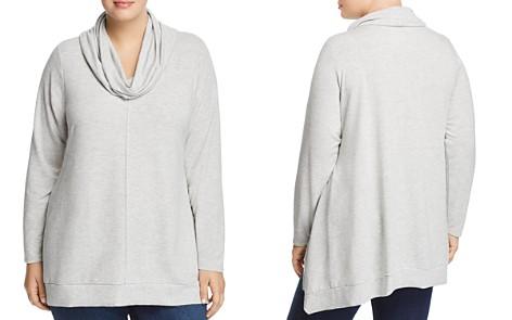 Cupio Plus Cowl-Neck Sweatshirt - Bloomingdale's_2