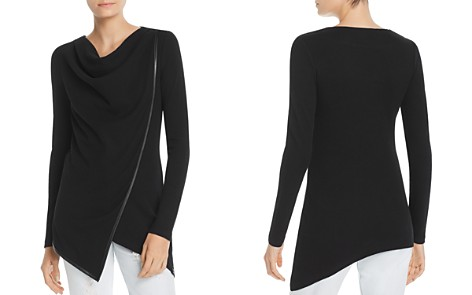 Marc New York Performance Asymmetric Overlay Top - Bloomingdale's_2