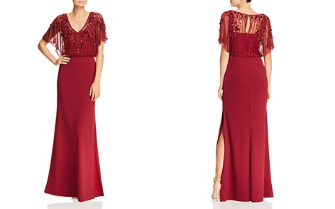 Aidan Mattox Beaded Blouson Gown - Bloomingdale's_2