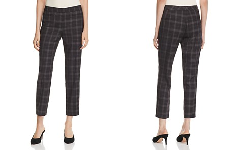 Gerard Darel Cropped Glen Plaid Pants - 100% Exclusive - Bloomingdale's_2