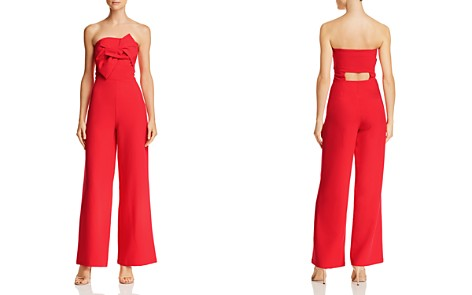 Do and Be Strapless Bow-Front Jumpsuit - Bloomingdale's_2